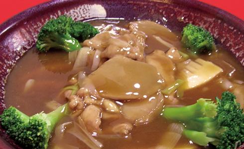あわびと竹の子のオイスター煮