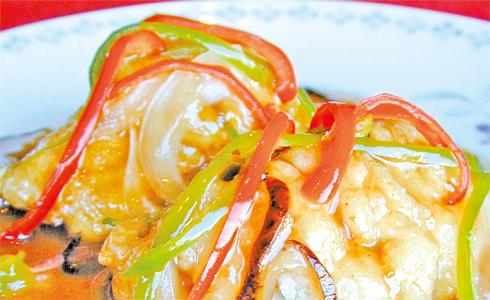 鱧のピリ辛甘酢あん(3切れ)